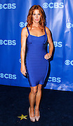 Poppy Montgomery attends the CBS Prime Time 2011-12 Upfronts in the Tent at Lincoln Center  in New York City on May 18, 2011.