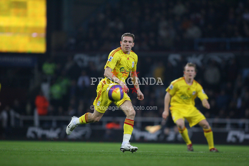 London, England - Tuesday, January 30, 2007: Liverpool's Craig Bellamy against West Ham United during the Premiership match at Upton Park. (Pic by Chris Ratcliffe/Propaganda)