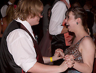 Senior Alex Silcot (left) and sophomore Josnlynn Smith during the Fairborn High School prom at Wright State University's Student Union in Fairborn, Saturday, May 7, 2011.