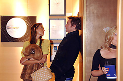 SIMON & YASMIN LE BON at a party to celebrate the first year of ING's sponsorship of the Renault Formula 1 team, held at the Mayfair Hotel, Stratton Street, London W1 on 28th November 2007.<br /><br />NON EXCLUSIVE - WORLD RIGHTS