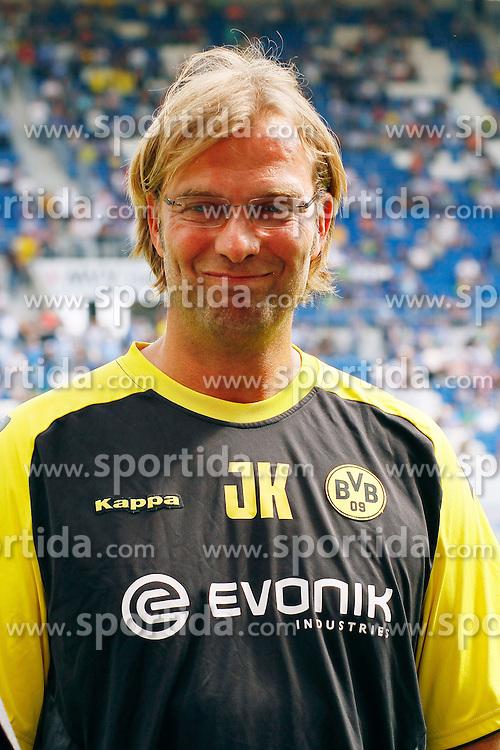 13.08.2011, Wirsol Rhein-Neckar-Arena, Sinsheim, GER, 1.FBL, TSG 1899 Hoffenheim vs BvB Borussia Dortmund, Juergen KLOPP, Trainer Borussia Dortmund, Portrait..// during the match from GER, 1.FBL,TSG 1899 Hoffenheim vs BvB Borussia Dortmund on 2011/08/13,  Wirsol Rhein-Neckar-Arena, Sinsheim, Germany..EXPA Pictures © 2011, PhotoCredit: EXPA/ nph/  A.Huber       ****** out of GER / CRO  / BEL ******