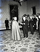 Alibrandi Right Reverent Monsignor Seatano, Albert Levame, Credentials been presented, Naunciture, 10-8-1956<br />