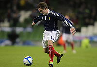 Football - Carling Nations Cup - Scotland v Northern Ireland<br /> Chris Commons of Scotland in action during the Scotland v Northern Ireland Carling Nations Cup at The Aviva Stadium