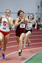 4x400 relay, BC, Celli<br /> Boston University Athletics<br /> Hemery Invitational Indoor Track & Field