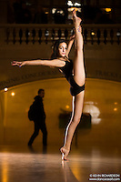 Dance As Art The New York City Photography Project Grand Central Terminal Series with dancer Victoria Loran