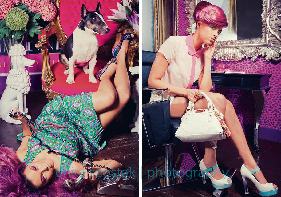 Editorial for Absolute Brighton magazine, November 2013.<br /> Photography: Erika Szostak<br /> Styling: Kate Morton<br /> Hair: Gary Forde<br /> MUA: Alessia Mancini<br /> Model: Amina<br /> Location: Forde Hair North Street<br /> Shoot assistant: Iszara Morgan
