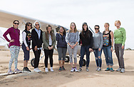Air marking with Phoenix 99s at Eagle Nest in Aguila, AZ on February 10, 2018.<br /> Left to Right: Courtney Smith, Diana LeSueur Andreson, Carole Cooke, Lexie Ciccone, Sarah Castillo, Ksenia Kerentseva, Jordan Matthews, Lauren Bills, Sam Sizemore, Judy Yerian.