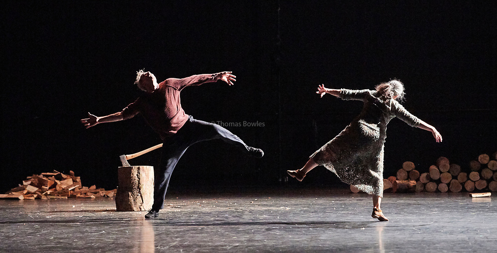 22nd June 2017. Elixir Festival, Knowbody II. Sadler's Wells,London. <br /> <br /> <br /> Axe -<br /> Performed by Ana Laguna and Yvan Auzely