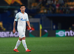 March 14, 2019 - Vila-Real, Castellon, Spain - Matias Kranevitter of Zenit Saint Petersburg during the Uefa Europa League round of 16 second leg match between Villarreal and Zenit Saint Petersburg at Estadio de la Ceramica on March 14, 2019 in Vila-real Spain. (Credit Image: © AFP7 via ZUMA Wire)