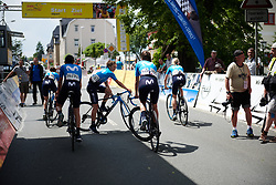 Movistar Women's Team at Lotto Thuringen Ladies Tour 2018 - Stage 3, a 131 km road race starting and finishing in Schleiz, Germany on May 30, 2018. Photo by Sean Robinson/Velofocus.com