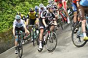 Photo Fabio Ferrari - LaPresse<br /> May 19, 2018  San Vito al taglaimento-Monte<br /> Zoncolan(Italy)  <br /> Sport Cycling<br /> Giro d'Italia 2018 - 101th edition -  stage 14<br /> SAN VITO AL TAGLIAMENTO - MONTE ZONCOLAN<br /> In the pic: during the race DUMOULIN Tom (NED) (TEAM SUNWEB)