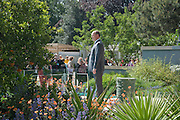PRINCE ALBERT 11 IN THE MONACO GARDEN, PRESS PREVIEW. The RHS Chelsea Flower Show 2011. The Royal Hospital grounds. Chelsea. London. 23 May 2011. <br /> <br />  , -DO NOT ARCHIVE-© Copyright Photograph by Dafydd Jones. 248 Clapham Rd. London SW9 0PZ. Tel 0207 820 0771. www.dafjones.com.