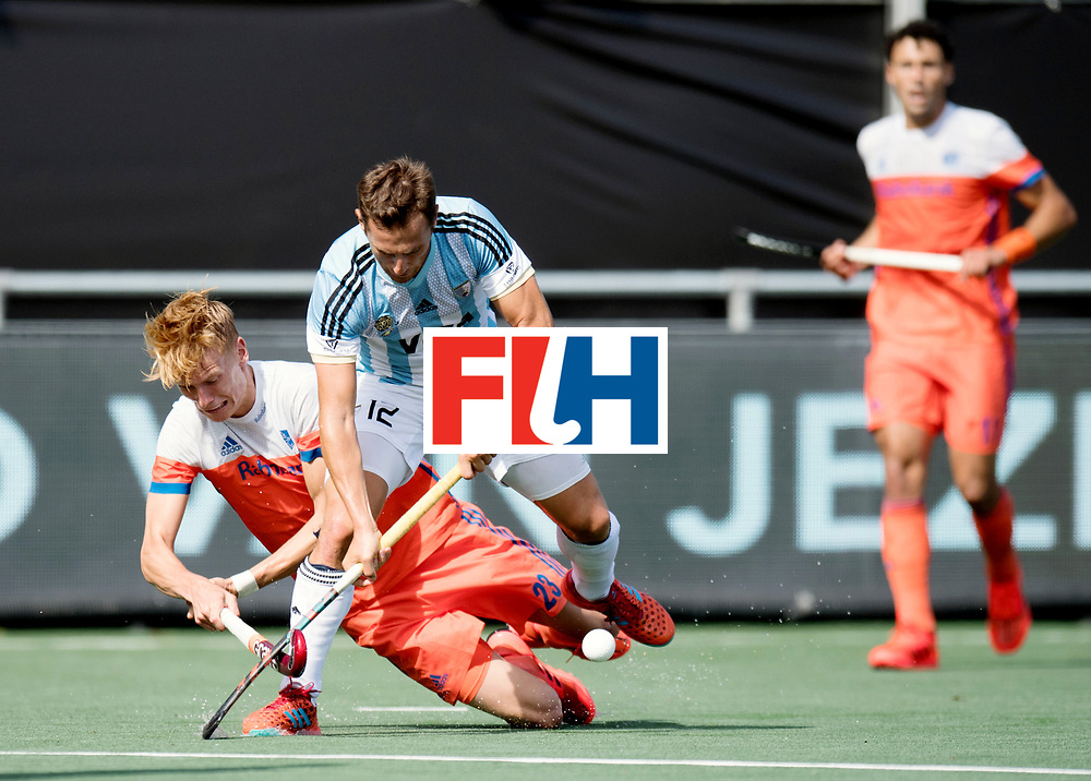 BREDA - Rabobank Hockey Champions Trophy<br /> The Netherlands - Argentina<br /> Photo: Lucas Vila and Joep de Mol.<br /> COPYRIGHT WORLDSPORTPICS FRANK UIJLENBROEK