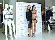11.FEBRUARY.2014. LONDON<br /> <br /> CODE - ZK<br /> <br /> ABBEY CLANCY POSES FOR PHOTOS AS THE NEW FACE AND BODY OF ULTIMO TO SHOWCASE THE NEW VALENTINE'S LINGERIE COLLECTION AT DEBENHAMS, OXFORD STREET, LONDON<br /> <br /> BYLINE: EDBIMAGEARCHIVE.CO.UK<br /> <br /> *THIS IMAGE IS STRICTLY FOR UK NEWSPAPERS AND MAGAZINES ONLY*<br /> *FOR WORLD WIDE SALES AND WEB USE PLEASE CONTACT EDBIMAGEARCHIVE - 0208 954 5968*