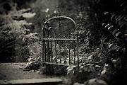 1859 Historic William Case House Garden Gate