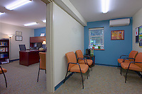 Interior image of the Drug and Alcohol Counseling Center at Loyola University by Jeffrey Sauers of Commercial Photographics