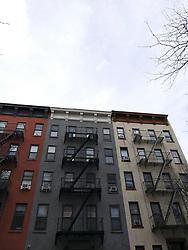 Apartment Building, Manhattan, New York City, New York, USA