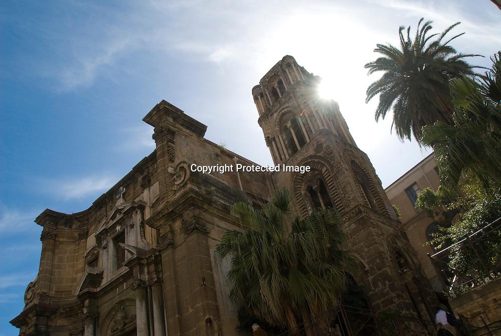 Martorana Church in Palermo, Sicily
