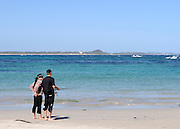 AUSTRALIA - EMU POINT A couple fish on the beach 12/01/2010. STEPHEN SIMPSON...