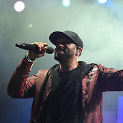 Craig David at RiZE Festival 2018 at RiZE Festival 2018 at Hylands Park, Chelmsford on 17 August 2018, UK.