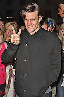 LONDON - October 03: Matt Smith in London (Photo by Brett D. Cove)