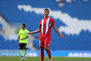 Grzegorz Krychowiak of Sevilla during the Pre-Season Friendly match between Brighton and Hove Albion and Sevilla at the American Express Community Stadium, Brighton and Hove, England on 2 August 2015.
