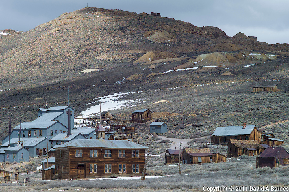 The ghost town of Bodie, California, USA
