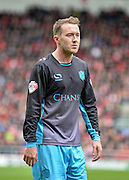 Sheffield Wednesday midfielder Aiden McGeady (37) during the Sky Bet Championship match between Bristol City and Sheffield Wednesday at Ashton Gate, Bristol, England on 9 April 2016. Photo by Adam Rivers.
