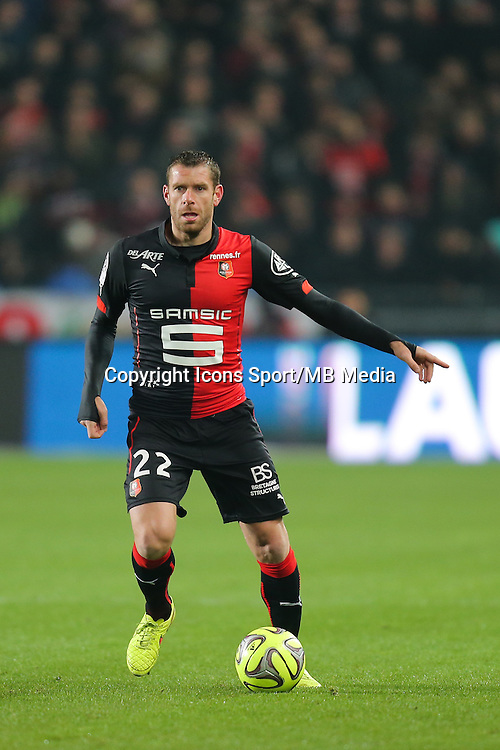 Sylvain ARMAND - 06.12.2014 - Rennes / Montpellier - 17eme journee de Ligue 1 -<br />