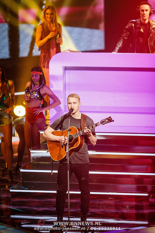 NLD/Hilversum/20160129 - Finale The Voice of Holland 2016, Mike Posner