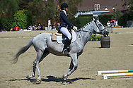 SO Poland athlete Marta Borowska with horse called Sinatra competes in equestrian competition during eighth day of the Special Olympics World Games Los Angeles 2015 on August 1, 2015 at Equestrian Centre Riverside Drive Burbank in Los Angeles, USA.<br /> USA, Los Angeles, August 1, 2015<br /> <br /> Picture also available in RAW (NEF) or TIFF format on special request.<br /> <br /> For editorial use only. Any commercial or promotional use requires permission.<br /> <br /> Adam Nurkiewicz declares that he has no rights to the image of people at the photographs of his authorship.<br /> <br /> Mandatory credit:<br /> Photo by © Adam Nurkiewicz / Mediasport