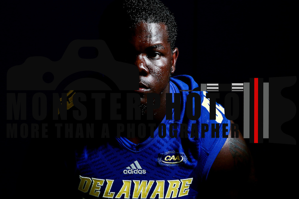 Photo of Delaware Defensive Tackle Bilal Nichols (92) taken Sunday, August 14, 2016, at Delaware Field House Facility on the campus of the university of Delaware in Newark.