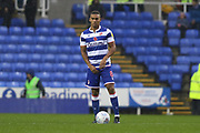 Andy Rinomhota (8) of Reading during the EFL Sky Bet Championship match between Reading and Luton Town at the Madejski Stadium, Reading, England on 9 November 2019.