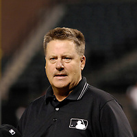 25 September 2007:  Umpire Gary Cedestrom in action during the game between the Toronto Blue Jays and the Baltimore Orioles.  The Blue Jays defeated the Orioles 11-4 at Camden Yards in Baltimore, MD.  ****For Editorial Use Only****