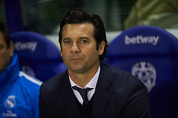 February 24, 2019 - Valencia, Valencia, Spain - Head Coach Santiago Hernan Solari of Real Madrid during the La Liga match between Levante and Real Madrid at Estadio Ciutat de Valencia on February 24, 2019 in Valencia, Spain. (Credit Image: © Maria Jose Segovia/NurPhoto via ZUMA Press)