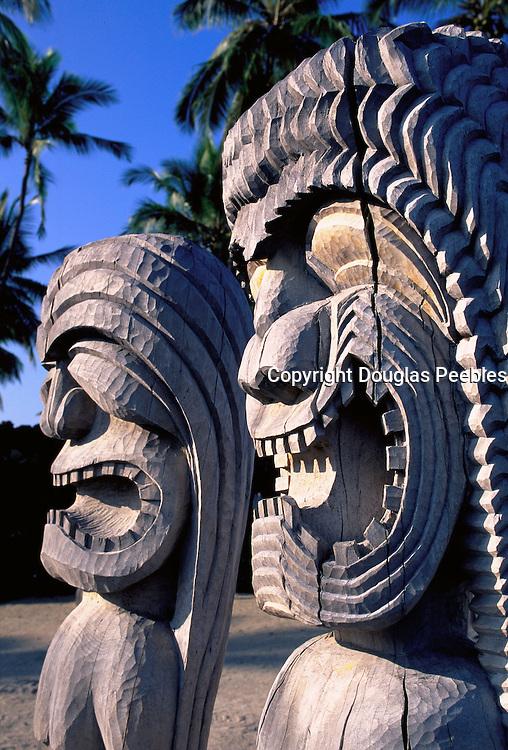Pu'uhonua O Honaunau National Park, Island of Hawaii, Hawaii, USA<br />