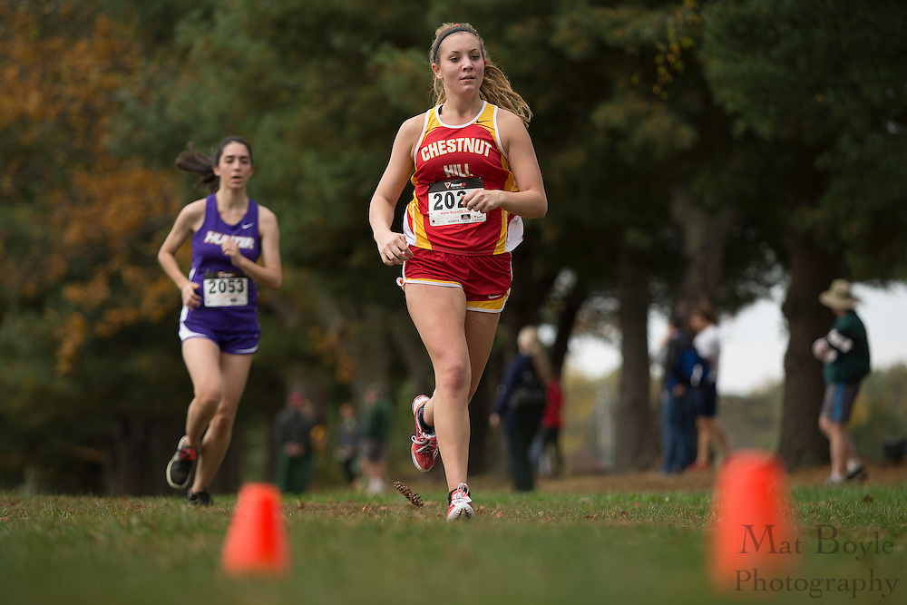 Chestnut Hill College Michaela Uttley - Collegiate Track Conference  Cross-Country Women's Championship at Gloucester County College in Sewell, NJ on Saturday October 19, 2013. (photo / Mat Boyle)