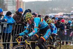 Loes Sels (BEL), Women Elite, Cyclo-cross World Championships Tabor, Czech Republic, 31 January 2015, Photo by Pim Nijland / PelotonPhotos.com