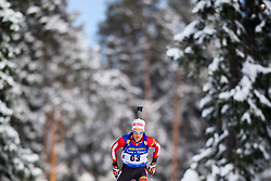 March 9, 2019 - –Stersund, Sweden - 190309 Felix Leitner of Austria competes in the Men's 10 KM sprint during the IBU World Championships Biathlon on March 9, 2019 in Östersund..Photo: Petter Arvidson / BILDBYRÃ…N / kod PA / 92252 (Credit Image: © Petter Arvidson/Bildbyran via ZUMA Press)