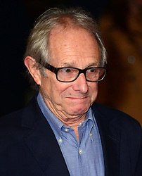 Ken Loach arriving for the premiere of new film Inside Llewyn Davis, in London,  Tuesday, 15th October 2013. Picture by Nils Jorgensen / i-Images