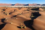 Aerial view, Namib Naukluft Park, Namib Desert, Namibia.