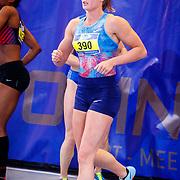 NLD/Apeldoorn/20180217 - NK Indoor Athletiek 2018, 60 meter dames, Dafne Schippers