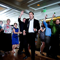 Dancing at a Seattle wedding reception.