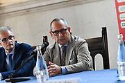 bianchi<br /> presentazioe supercoppa 2018<br /> Legabasket Serie A 2018/19<br /> Brescia, 24/09/2018<br /> Ciamillo-Castoria