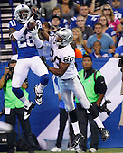 NFL - Indianapolis Colts vs Oakland Raiders - Indianapolis, In