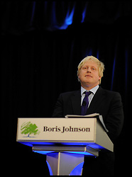 London Mayor Conservative Candidate Boris Johnson during the Evening Standard Mayoral Debate, during the Mayoral Campaign, April 11, 2012. Photo By Andrew Parsons/I-images
