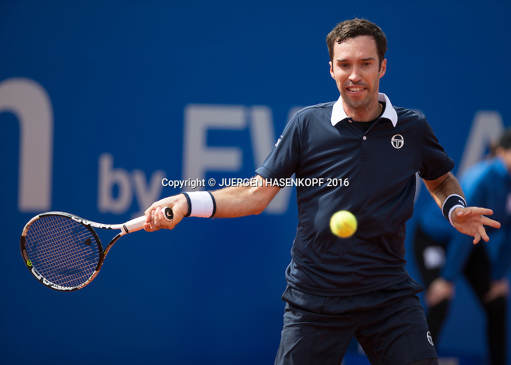 Mikhail Kukushkin (KAZ)<br /> <br /> Tennis - BMW Open2016 -  ATP  -  MTTC Iphitos - Munich -  - Germany  - 28 April 2016.