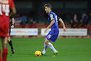 Michael Tonge of Stevenage during the Sky Bet League 2 match between Crawley Town and Stevenage at the Checkatrade.com Stadium, Crawley, England on 26 December 2015. Photo by Phil Duncan.