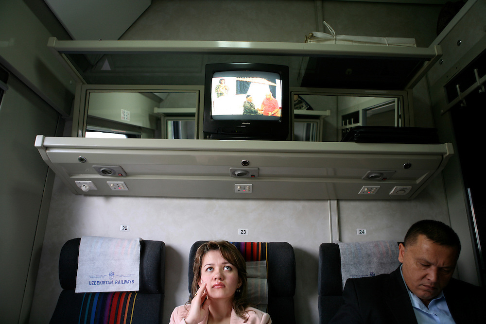 On the train from Tashkent to Samarkand