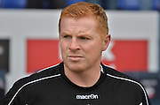neil lennon during the Sky Bet Championship match between Bolton Wanderers and Derby County at the Macron Stadium, Bolton, England on 8 August 2015. Photo by Mark Pollitt.